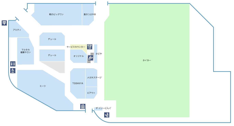 フロア図1F